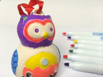 Decorate a Mini Owl
