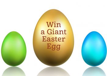 Win a giant chocolate egg in our Easter Hunt!
