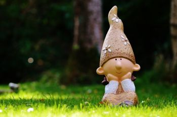 Garden gnomes are becoming a rare species in British gardens