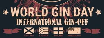 World Gin Day - Sat 10th June