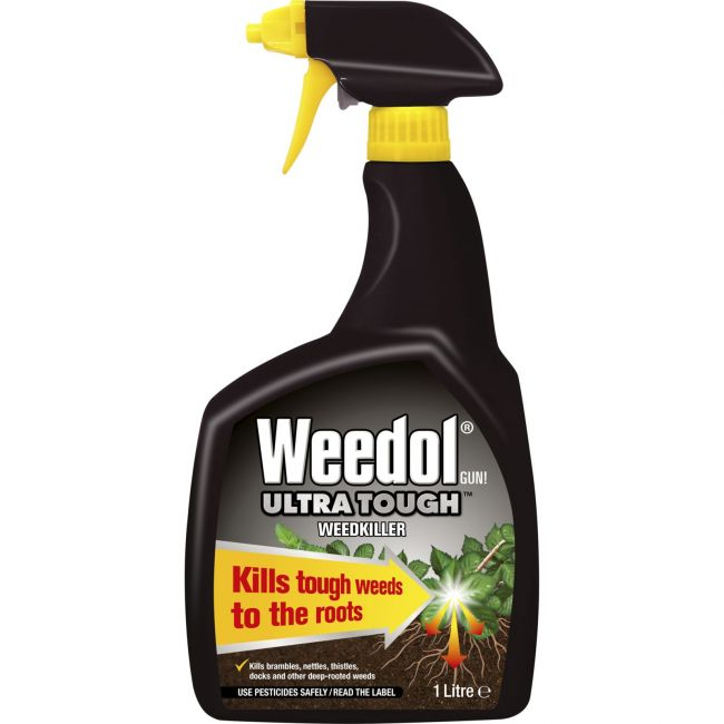 Weedol Ultra Tough Weedkiller 1 litre gun