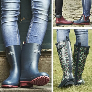 Wellies- patterned and plain, tall and short